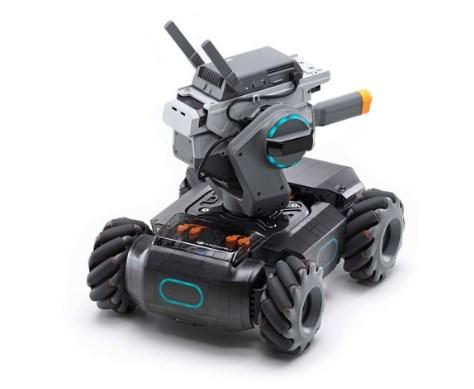 遊びながらプログラム学習!DJI RoboMaster S1。