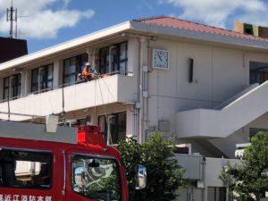 滋賀県愛荘町の防災訓練に参加(ドローン防災・産業協会DDI)