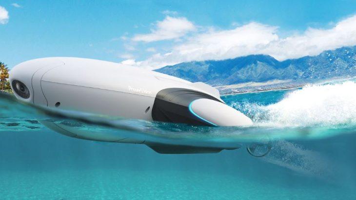 水上ドローンでマリンスポーツ、暑さを吹き飛ばせ!