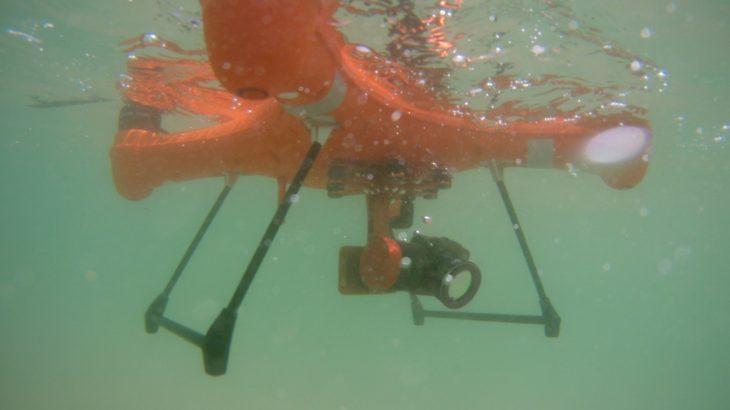 水上着陸可能!防水ドローンSplash Drone 3+